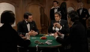 Мужики играют в покер