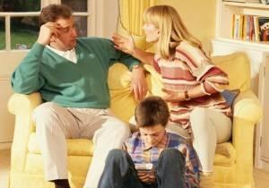 Родители мальчика ссорятся