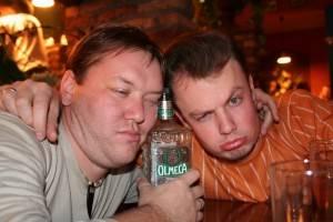 Пьяные мужики