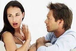 Парень обманывает девушку