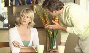Жена не хочет слушать мужа