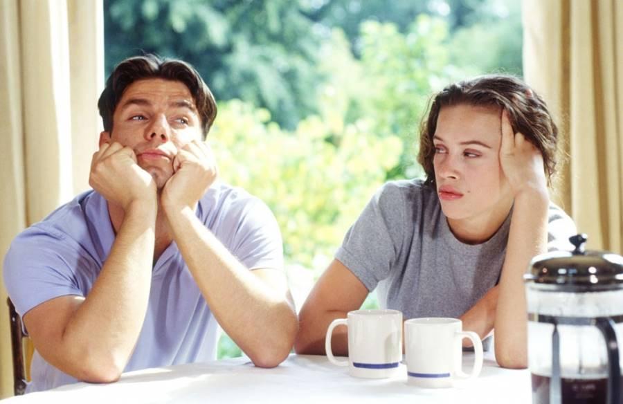 Муж не слушает жену