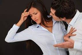 У парня ссора с девушкой